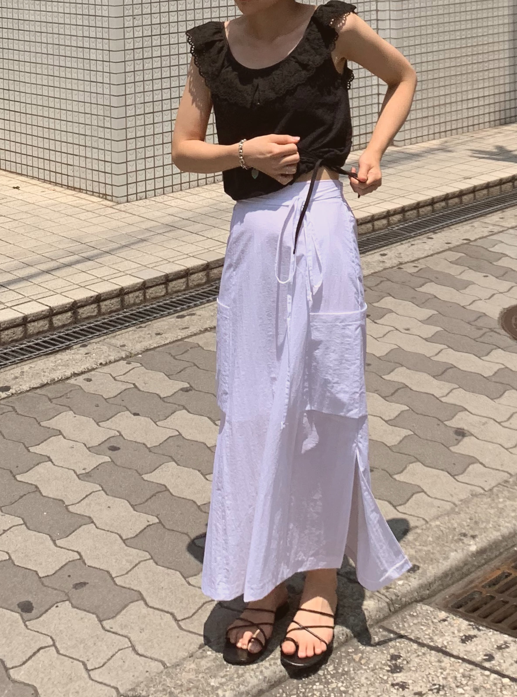 poket skirt (2color)